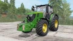 John Deere 6135R-6250R для Farming Simulator 2017