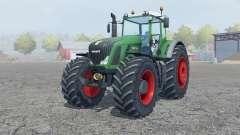 Fendt 936 Vario crayola green для Farming Simulator 2013