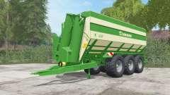 Krone TX 430 pantone green для Farming Simulator 2017