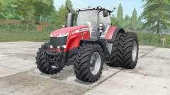 Massey Ferguson 8727-8737 wheels selection для Farming Simulator 2017