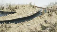 Река 704 для MudRunner