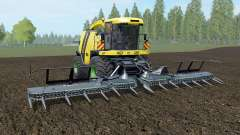 Krone BiG X 1100 banana yellow для Farming Simulator 2017