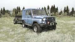УАЗ-3151 для MudRunner