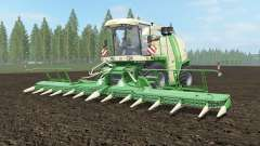 Krone BiG X 1100 pantone green для Farming Simulator 2017
