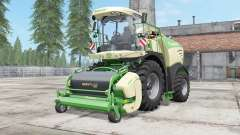 Krone BiG X 480 lime green для Farming Simulator 2017
