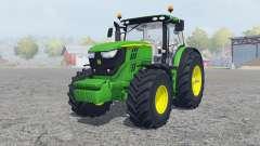 John Deere 6170R&6210R для Farming Simulator 2013