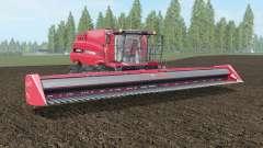 Case IH Axial-Flow 7130 red salsa для Farming Simulator 2017