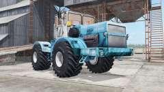 Кировец К-700А бирюзовый окрас для Farming Simulator 2017