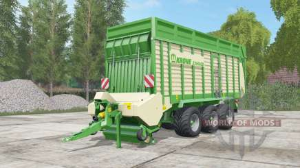 Krone ZX 550 GD pigment green для Farming Simulator 2017