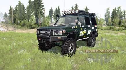 Toyota Land Cruiser 70 (J76) 2007 expedition для MudRunner