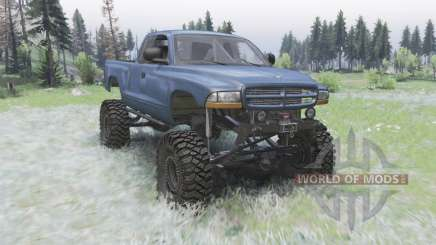 Dodge Dakota Club Cab 1997 для Spin Tires