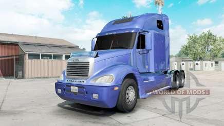 Freightliner Columbia vista blue для American Truck Simulator