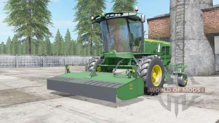John Deere W260 sea green для Farming Simulator 2017