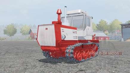 Т-150-05-09 ярко-красный окрас для Farming Simulator 2013