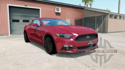 Ford Mustang GT fastback 2014 для American Truck Simulator
