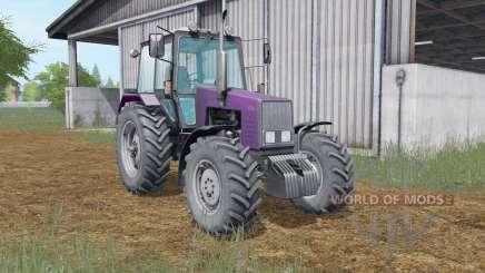 МТЗ-1221 Беларус тёмно-пурпурный окрас для Farming Simulator 2017