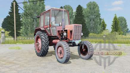 МТЗ-80 Беларус мягко-кҏасный окҏас для Farming Simulator 2015