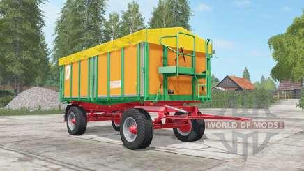 Kroger Agroliner HKD 302 sea buckthorn для Farming Simulator 2017