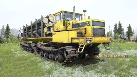 БТ361А-01 Тюмень жёлтый окрас для MudRunner