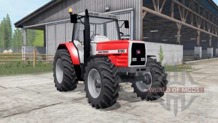 Massey Ferguson 6160-6190 для Farming Simulator 2017
