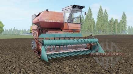СК-5 Нива умеренно-красный окрас для Farming Simulator 2017