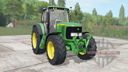 John Deere 6020&7020 series для Farming Simulator 2017