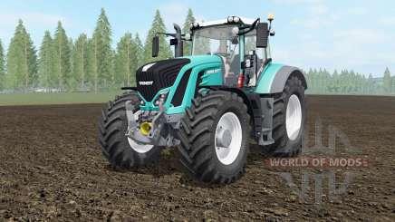Fendt 927-939 Vario robin egg blue для Farming Simulator 2017