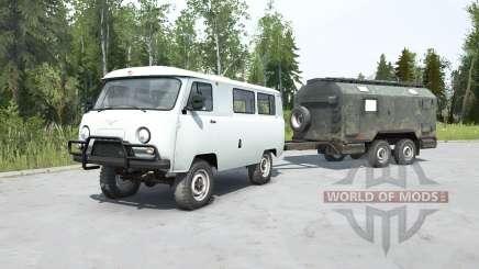 УАЗ-2206 для MudRunner