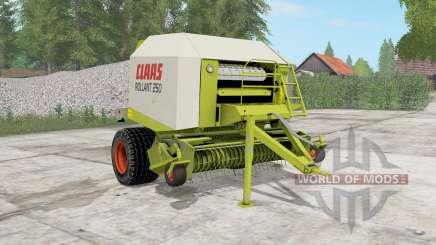 Claas Rollant 250 RotoCut для Farming Simulator 2017