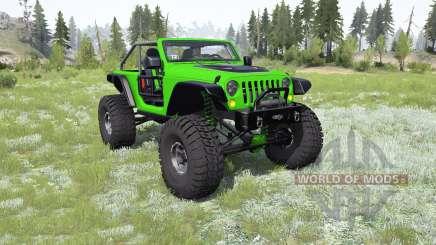 Jeep Wrangler (JK) Trailcat для MudRunner