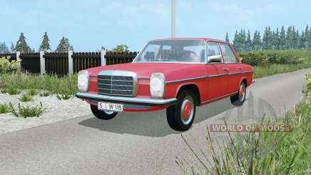 Mercedes-Benz 220D (W115) 1973 для Farming Simulator 2015