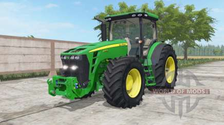 John Deere 8245R-8345R north texas green для Farming Simulator 2017