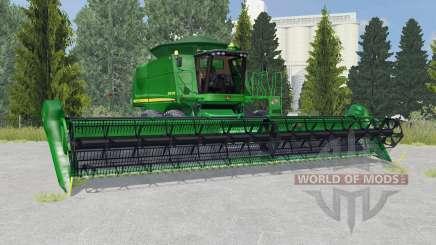 John Deere 9770 STS la salle green для Farming Simulator 2015