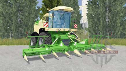 Krone BiG X 580 liᶆe green для Farming Simulator 2015