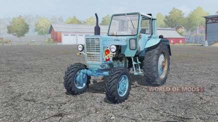 МТЗ-80 Беларус умеренно-голубой окрас для Farming Simulator 2013