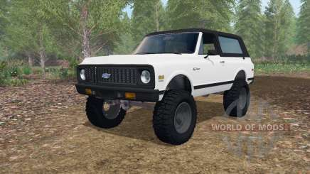 Chevrolet K5 Blazer lifted для Farming Simulator 2017