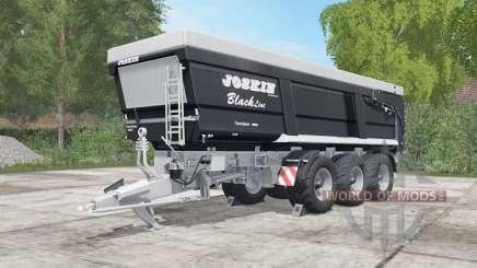 Joskin Trans-Space 7000-23BC150 high capacity для Farming Simulator 2017