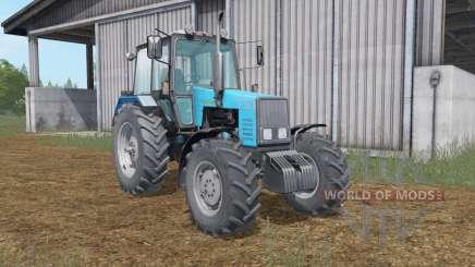 МТЗ-1221 Беларус голубой окҏас для Farming Simulator 2017