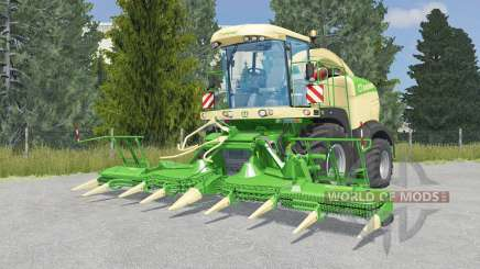 Krone BiG X 580 lime green для Farming Simulator 2015