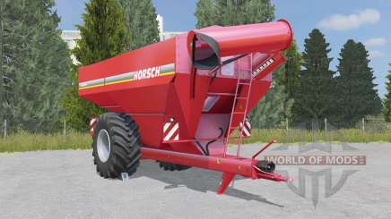 Horsch Titan 34 UW deep carmine pink для Farming Simulator 2015