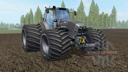 Deutz-Fahr 7250 TTV Agrotron The Beast Black для Farming Simulator 2017