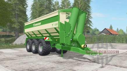 Krone TX 430 high capacity для Farming Simulator 2017