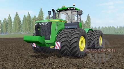 John Deere 9460R-9560R для Farming Simulator 2017