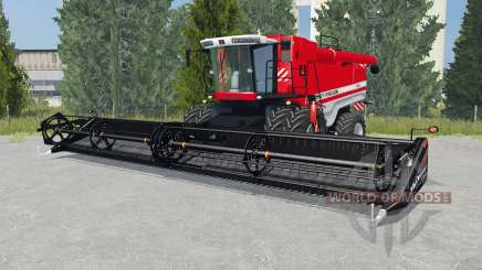 Massey Ferguson 9895 light brilliant red для Farming Simulator 2015