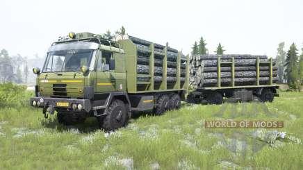 Tatra T815 VVN 20.235 6x6 moss green для MudRunner