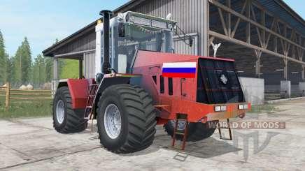 Кировец К-744Р3 красный окрас для Farming Simulator 2017