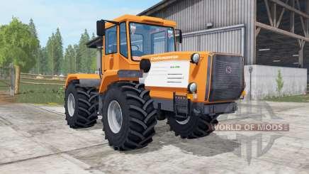 Слобожанец ХТА-220В ярко-оранжевый окрас для Farming Simulator 2017