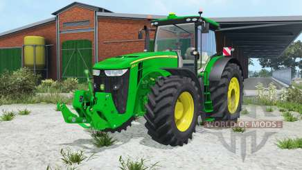 John Deere 7270R&8370R для Farming Simulator 2015