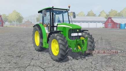 John Deere 5100R manual ignition для Farming Simulator 2013
