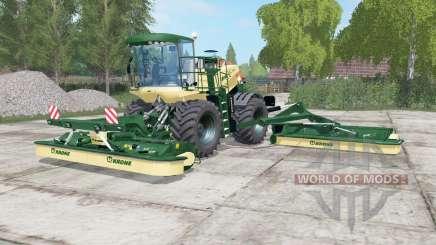 Krone BiG M 500 dartmouth green для Farming Simulator 2017